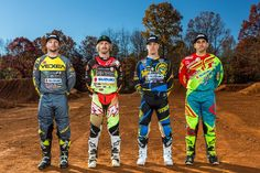 The team shows off their new look for Motocross Riders, New Look, Gallery, Roof Rack