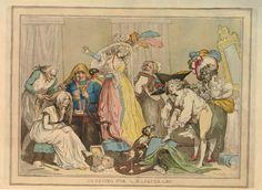 Dressing for a Masquerade, 1790