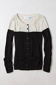 climbing cables cardigan | anthropologie; $88