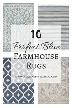 Blue And Gray Large Area Rugs You Ll Love Large Area