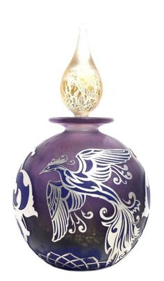 Perfume bottle with Phoenix.