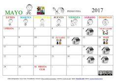 SUSANA Maestra de A.L.: Calendario Mensual MAYO