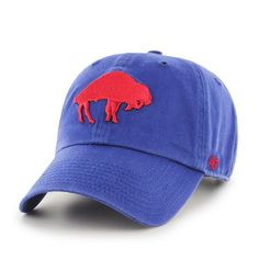 brand new bf5e5 a1a05 Buffalo Bills  47 Brand Clean Up Adjustable Hat