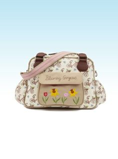 Pink Lining Τσάντα Αλλαγής Blooming Gorgeous - In The Mews Pink Bikes Cute Diaper Bags, Pink Bike, Baby Changing Bags, Nursery Furniture, Baby Boutique, Baby Accessories, Lunch Box, Maternity, Bloom
