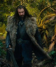 "Thorin to Gandalf  ""...what made you come back...?""    Gandalf  ""...looking back..."""