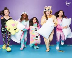 Grab a pillow and get the party started in snuggly, wishlist-worthymstyles of the Sleepover Shop.