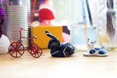room tour! - #ceramic trinkets and wire bike