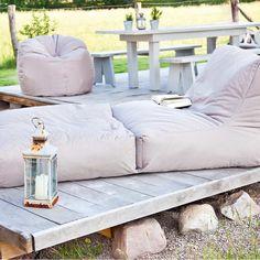 #Outdoor #Sitzsack von Outbag - Peak: Fabric Cappuccino