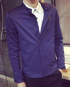 $23.63 Zipped blue jacket.