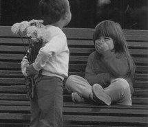 Inspiring image amour, amoureux, couple, cute, enfant, fleur, jolie, mignon, amoureuse, veritable, amour d'enfance #2979834 by marine21 - Resolution 500x567px - Find the image to your taste