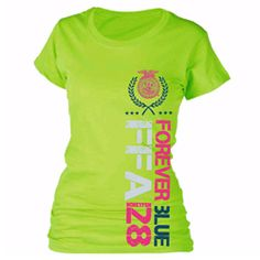 New! Lime Vertical FFA Tee #ShopFFA  http://shop.ffa.org/lime-vertical-ffa-tee-p42180.aspx#