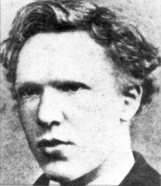 Vincent Van Gogh, a los 18 años.