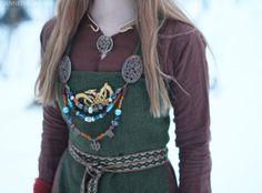 "annethearcher: "" Viking Dress - Detail (x) """