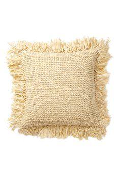 Nordstrom Rack - Raffia Fringe Pillow - 18x18