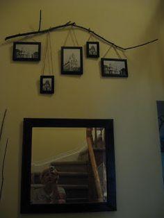 : Twig Photo Display