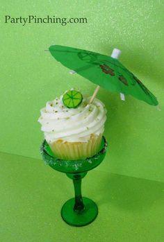 Cinco de Mayo ideas - Mmmmm Mini Margarita Cupcakes.  I got this recipe from Betty Crocker.