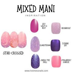 Spring Nails, Summer Nails, Strawberry Sunrise, Yellow Nail Polish, Nail Colors, Colours, Star Crossed, Color Street Nails, Easy Nail Art