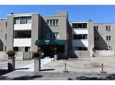 Just enjoy the spacious large 2 bedroom condo!  5th Floor.  Bright and airy with a 4 season sun room off living room!  Eat in kitchen plus a formal dining room.  Area for washer and dryer or you can use the laundry mat on the 2nd floor.  Updates C/A 2014, H2O tank 2014.  There is a heated garage extra storage area. Exercise room and social room all on 2nd floor.  There is also a party room, library and a pool!  HOA fees include, heat, electric, landscaping, snow removal, trash and water…