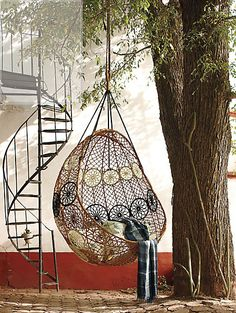 Knotted Melati Hanging Chair - Athropologie