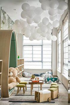 Cool 38 Popular Kids Bedroom Decoration Ideas That Looks Awesome Room Interior Design, Kids Room Design, Restaurant Interior Design, Kids Bedroom Sets, Kids Bedroom Furniture, Bedroom Decor, Luxury Kids Bedroom, Modern Kids Bedroom, Teen Bedrooms