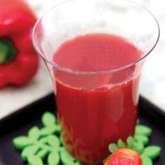 Bell Pepper Strawberry Juice