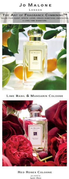 Jo Malone Perfumes - Combine Lime Basil & Mandarin with Red Roses