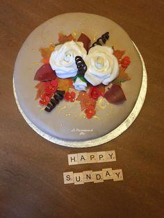 Cake design autumn
