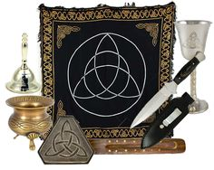 Celtic Wiccan Altar Kit  Pagan Goods - 1