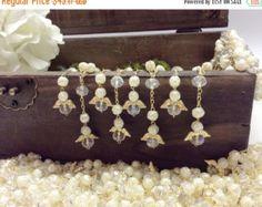 10%off sale 50 pcs Glass Pearl Mini Rosaries by AVAandCOMPANY