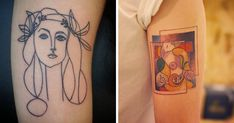 15+ Picasso-Inspired Tattoo Ideas For Art Lovers   Bored Panda