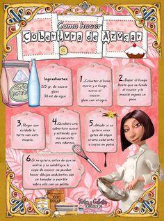 Tartas, Galletas Decoradas y Cupcakes: COBERTURA DE AZÚCAR