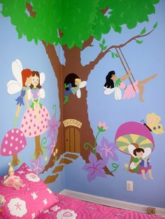 Mural Kits!  Includes pattern, transfer paper, directions, and color guide.