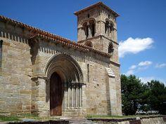 Aguilar de Campoo (Palencia) románico Santa Cecilia 2