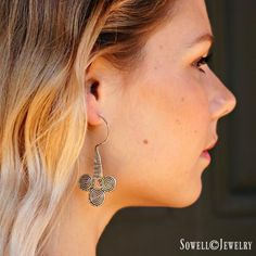Metalla Silver Earrings