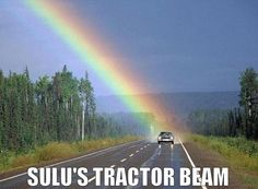 From a fan. I'm flattered!  George Takei -