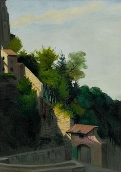 La porte de Bulagaio, 1913 de Felix Vallotton (1865-1925, Switzerland)