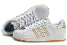 detailed pictures 838f1 18e6e Purchase Factory outlet Adidas Women Originals Superstar 2 Bling Pack  Casual White Gold - All Adidas Shoes Cheap Sale Now