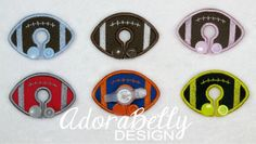 Football Shape Custom Gtube Covers Gtube Pads Mic-Key Mickey Button Feeding Tube Pads by AdorabellyDesign on Etsy