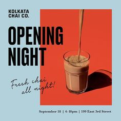 New York City's most authentic masala chai cafe located in the East Village. Food Graphic Design, Creative Poster Design, Menu Design, Ad Design, Cover Design, Layout Design, Packaging Design Inspiration, Graphic Design Inspiration, Food Packaging Design