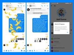 Here Is How Android and iOS Users Can Enable Dark Mode in Facebook Messenger Social Media Tips, Social Networks, Social Media Marketing, Popup Menu, Business Infographics, Facebook Users, Facebook Messenger, Technology Articles, You Are Invited