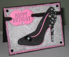 » High Heel Birthday Card Just Make Time