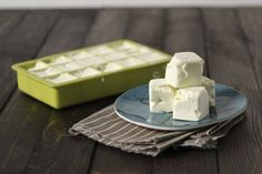 Homemade vegan dairy free butter - only three common vegan ingredients. Looks good - may have to try!