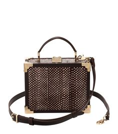 Accessories: Shoulder Bags Aspinal of London Mini Trunk Clutch