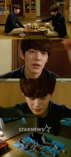 """Heung Soo says to Nam Soon, """"Stop feeling apologetic to me"""""""