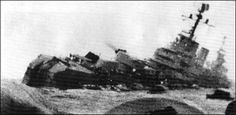Belgrano--This is a photo from the last hours of the Belgrano. The sinking of… Naval History, Military History, Nuclear Submarine, World Conflicts, Rough Seas, Falklands War, Under The Ocean, National Geographic Society, Man Of War