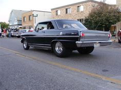 """What time is it? """"TYM2FLY"""" in a 64 Chevy Nova SS"""