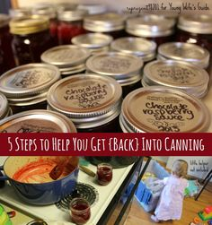 get into canning words
