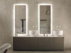 ORIGIN Mueble bajo lavabo doble by INBANI diseño Seung-Yong Song