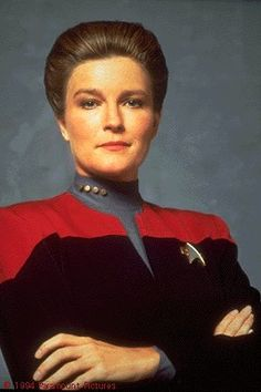 If you don't love Captain Katherine Janeway from Voyager, you're wrong.