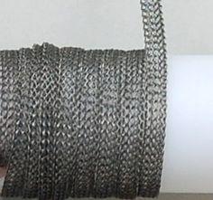 Hematite 8 Needle 4.8mm Flat-5 feet